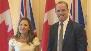 گفتوگوی وزرای خارجه انگلیس و کانادا درباره ایران